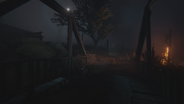 dog waste playing Outlast 2