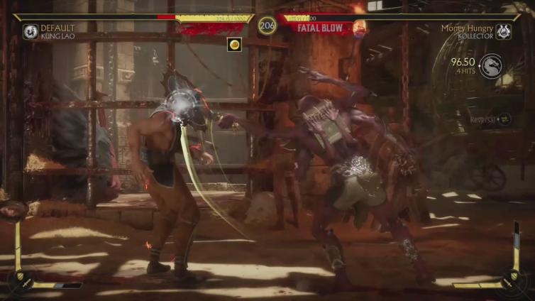 EweStickyCow playing Mortal Kombat 11