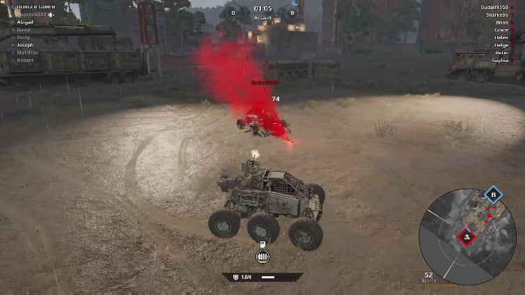 HUNGER G4MER playing Crossout