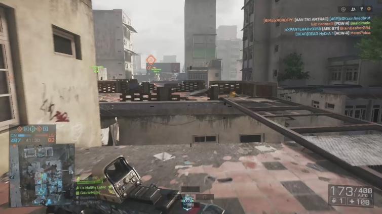 GabrielNdrad playing Battlefield 4