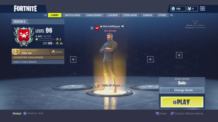 When does fortnite custom matchmaking come out