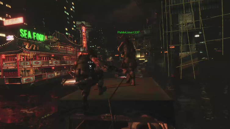 khox47 playing Resident Evil 6