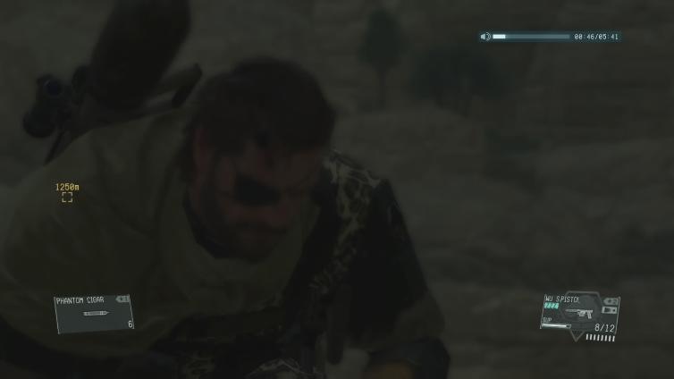 Lin Kuei Hustle playing Metal Gear Solid V: The Phantom Pain