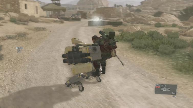 JoseFupe playing Metal Gear Solid V: The Phantom Pain